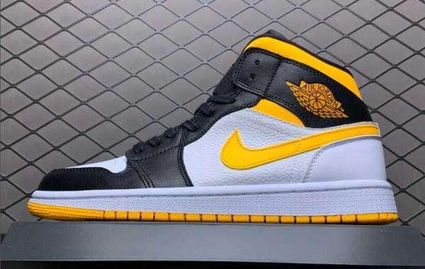 "2020 Cheap Air Jordan 1 Mid ""Laser Orange"" Basketball Shoes CV5276-107"