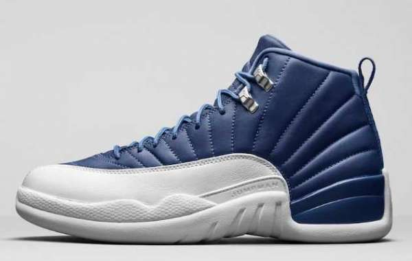 Each pair is unique! Indigo dyed Air Jordan 12 is coming soon