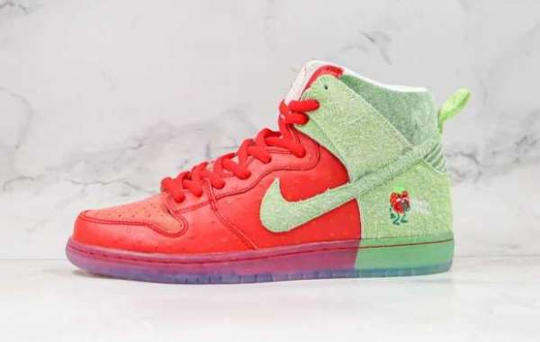 Nike SB Dunk high strawberry cough is Available Now
