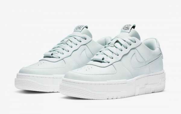 """Newness Nike Air Force 1 Pixel """"Ghost Aqua"""" CK6649-400 to release on October 22th 2020"""