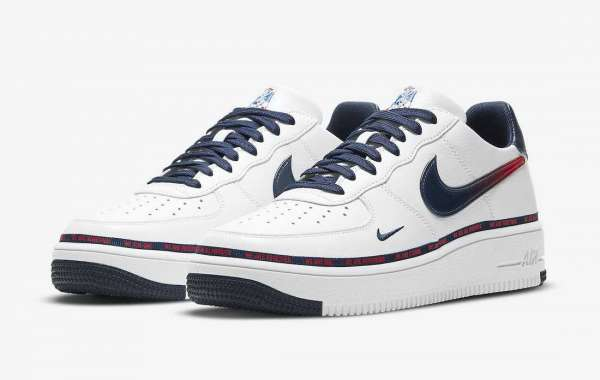 """The Upcoming The Nike Air Force 1 Ultraforce """"New England Patriots"""" DB6316-100 For Sale"""