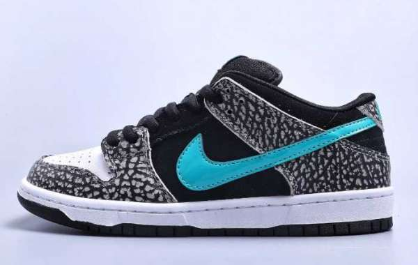 "There must be many people who want it! ""Elephant"" Dunk SB is so handsome, it will be on sale next week!"