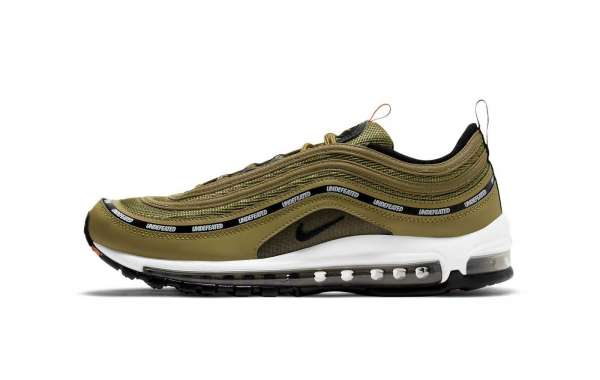 "New 2020 Undefeated x Nike Air Max 97 ""Militia Green"" Sneakers DC4830-300"