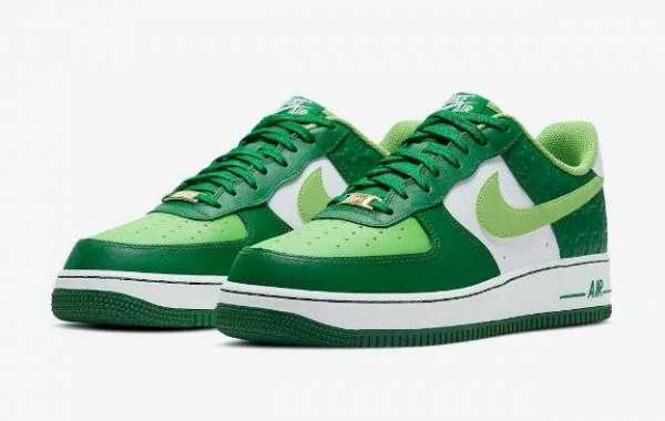 DD8458-300 Nike Air Force 1 St. Patrick's Day to Arrive on March 2021
