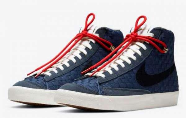 "Most Fashion Nike Blazer Mid 77 ""Sashiko"" Shoes For Sale"