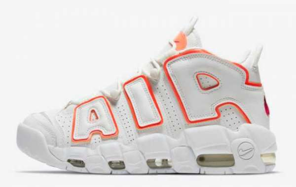 "Nike Air More Uptempo ""Sunset"" 2021 New Arrival DH4968-100"