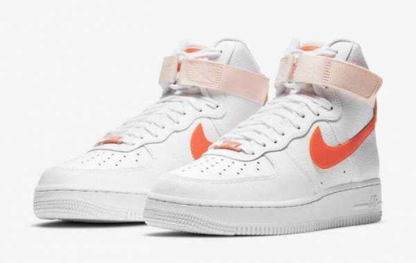 "2021 Nike Air Force 1 High ""Orange Pearl"" Arriving For Women"