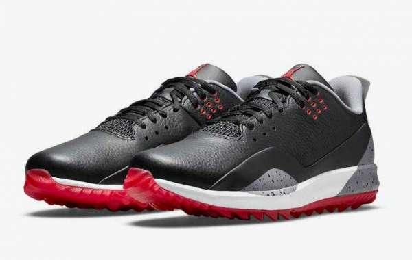 The Latest Jordan ADG 3 Golf Shoe Release the Black Cement Cover