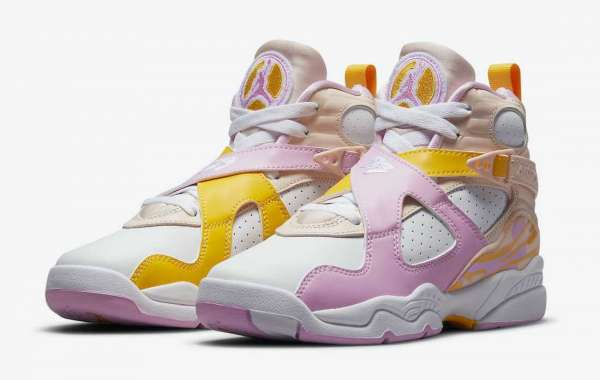 """580528-816 Air Jordan 8 GS """"Arctic Punch"""" to release on May 27th"""