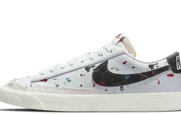 Nike Blazer Low Paint Splatter DJ1517-100 On Sale