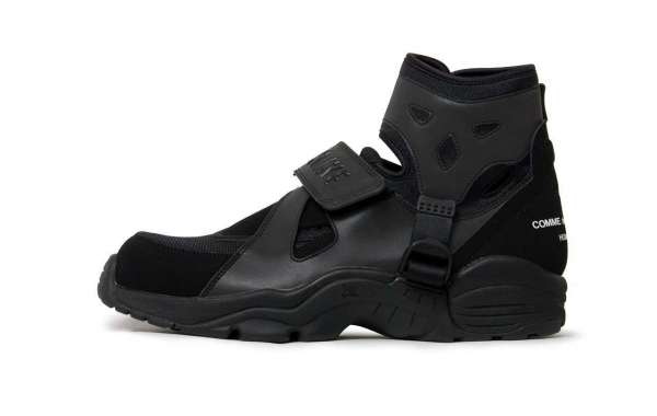 Brand New COMME des GARCONS HOMME PLUS x Nike Air Carnivore Black